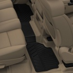 Коврики салона задние (резиновые,черные) 22858823 для Chevrolet Tahoe IV 2015-
