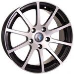Диск колесный Venti 1603 6.5xR16 4x100 ET37 ЦО60.1 чёрный с полированной лицевой частью rd832504