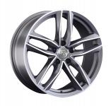 Диск колесный Replay VV248 8xR18 5x112 ET25 ЦО66.6 серый глянцевый с полированной лицевой частью 081100-040000006