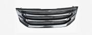 Карбоновая радиаторная решетка для Honda Crosstour 2012 -