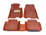 3D коврики в салон кожаные Honda Crosstour 2012 -