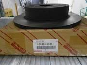 4243142060: Диск тормозной задний Toyota 4243142060 Toyota RAV4 (4G) CA40 2012- Toyota