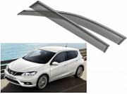 Дефлекторы на окна NOBLE Chrome для Nissan Tiida C13R 2015 -