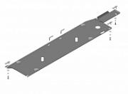 Защита топливных трубок Motodor 11412 Nissan X-Trail (3G) T32 2013-