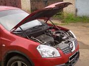 "Амортизаторы (упоры) капота ""A-Engineering"" для Nissan Qashqai 13-"
