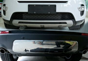 Стильные накладки на бампера для Land Rover Discovery Sport 2015 -