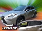 Дефлекторы оконные вставные HEKO (Польша) для Lexus NX 2015 г.в по н.в.