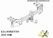 Фаркоп Westfalia  для Sorento Prime (2015 - по н.в. )