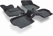 3D коврики в салон текстильные BORATEX BRTX1121 Lada Vesta 2015-