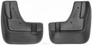 Брызговики передние L. Locker для автомобиля с расширителями для Mitsubishi Outlander 2014 -