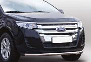 Защита переднего бампера (труба, 60 мм) для Ford Edge (2013 - 2015)