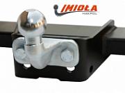 Фаркоп без выреза в бампере (электрика в комплекте) для Ford Edge (2013 - 2015)