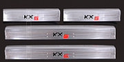 Накладки на пороги для KIA Sportage IV 2016-
