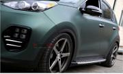 Боковые подножки  GSC - KIA The SUV Sportage (MOBIS) Вставка решетки радиатора SS - KIA The SUV Sportage (AUTORIA) для KIA Sportage IV 2016 -