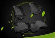3D коврики в салон кожаные Gazlk Auto Jaguar F-PACE 2016-