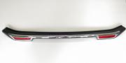 Защитная накладка на задний бампер с загибом TAI  для  Mitsubishi Pajero Sport 2016 -