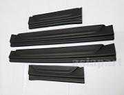 Защитные накладки на пороги BLACK TAI для Mitsubishi Pajero Sport 2016 -