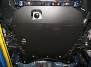 ALF1402: Защита картера двигателя стальная ALF1402 ALFECO для Mitsubishi Outlander XL 2006 - 2012 all кроме 3.0 картера и КПП Alfeco