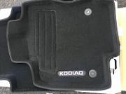 3D коврики в салон ворсовые Original part Skoda Kodiaq 2017-