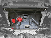 ": Защита ""Alfeco"" для картера и КПП Hyundai Solaris 2011-2017 Alfeco"