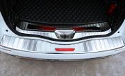 Накладки на задний бампер и багажный проем FuRuiSi для Renault Koleos 2017 -