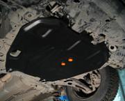 : Защита картера и кпп ALFECO стальная для Mitsubishi Outlander 3 3.0 Alfeco