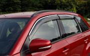 Дефлекторы боковых окон с хром молдингом  Biaoge для Suzuki new Vitara 2015 -