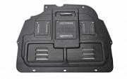 Защита картера двигатели и кпп, композитная c технологическими лючками Li Kewei для  PEUGEOT 3008 2017 -
