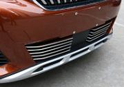 Хромированные накладки на радиаторную решетку XIANG?HUI AUTO для PEUGEOT 3008 2017 -