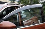 Дефлекторы боковых окон с хром молдингом XIANG - HUI AUTO для PEUGEOT 3008 2017 -