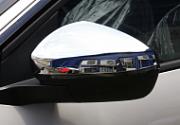 Хромированные накладки на боковые зеркала XIANG AUTO для PEUGEOT 5008 2017 -