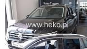 Дефлекторы окон (вставные)31007 для Volkswagen Tiguan 2017-