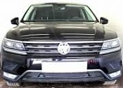 Защита радиатора Premium, чёрная, низ (Off-Road) Allest WVTIG16.PREMIUM.bot2.black для Volkswagen Tiguan 2017-