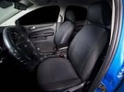 Чехлы на сиденья (жаккард)  тёмно-серый (Titanium Sport) Seintex 86166 для FORD Focus III (2011 - 2015 )