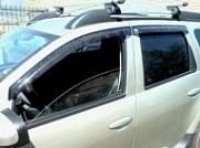 Дефлекторы боковых окон, темные, 4 части SIM SREDUS1132 для Renault Duster 2011-