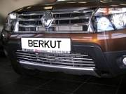 Накладка на решетку бампера d16 Berkut-Auto RDST.R32 Renault Duster 2011-