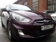 Защита радиатора Premium, чёрная Allest HSOL.PREMIUM.black для Hyundai Solaris 2011-