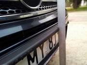 Рамка для номерного знака с резиновым демпфером, (1 шт.) Rider Ramka-01 для Nissan Qashqai 13-