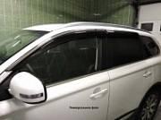 Дефлекторы боковых окон с нерж. молдингом, OEM Style OEM-Tuning BTYRV1323 для Toyota RAV4 2015-