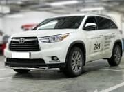 Защита передняя низкая d-60 Технотек HYG 2014_1 Toyota Highlander 2014 -