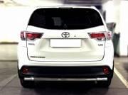 Защита заднего бампера d-60 Технотек HYG 2014_3.3 Toyota Highlander 2014 -