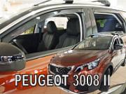 Дефлекторы боковых окон вставные 26157 HEKO для PEUGEOT 3008 2017 -