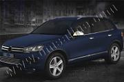 Нижние молдинги стекол, нерж., 6 частей Omsa Line для VW TOUAREG (2010-2018)