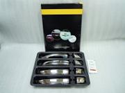 Накладки на дверные ручки, нерж., 4 двери Omsa Line для VW Touareg (2010-2018)