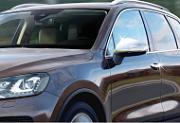 Накладки на зеркала, нерж., 2 части Omsa Line для VW TOUAREG (2010-2018)