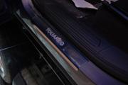 Накладки на внутренние пороги с надписью, нерж. сталь, 4 шт. Alu-Frost для VW TOUAREG (2010-2018)