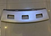 Накладка переднего бампера нижняя серебро для Haval H6