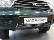 Накладка на решетку бампера Berkut-Auto UPAT.R12 UAZ Patriot 2014-
