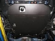 Защита картера (сталь, толщина 2мм.) Альфеко ALF1402st для Mitsubishi ASX 2016 -