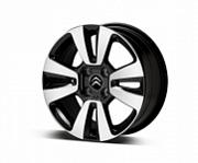Диск колесный R16 Citroen Matrix 1622965980 черно серый Citroen C3 Aircross 2018 -